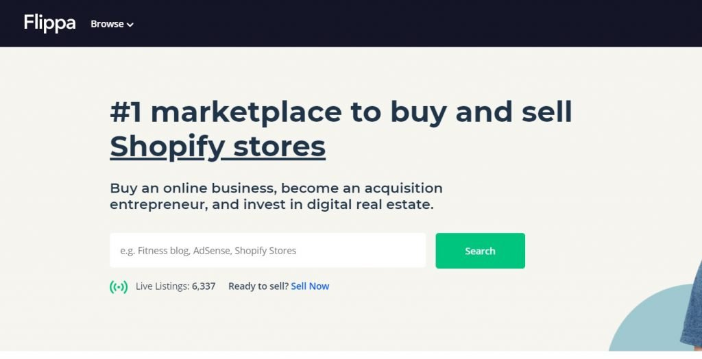 How to sell website on flippa